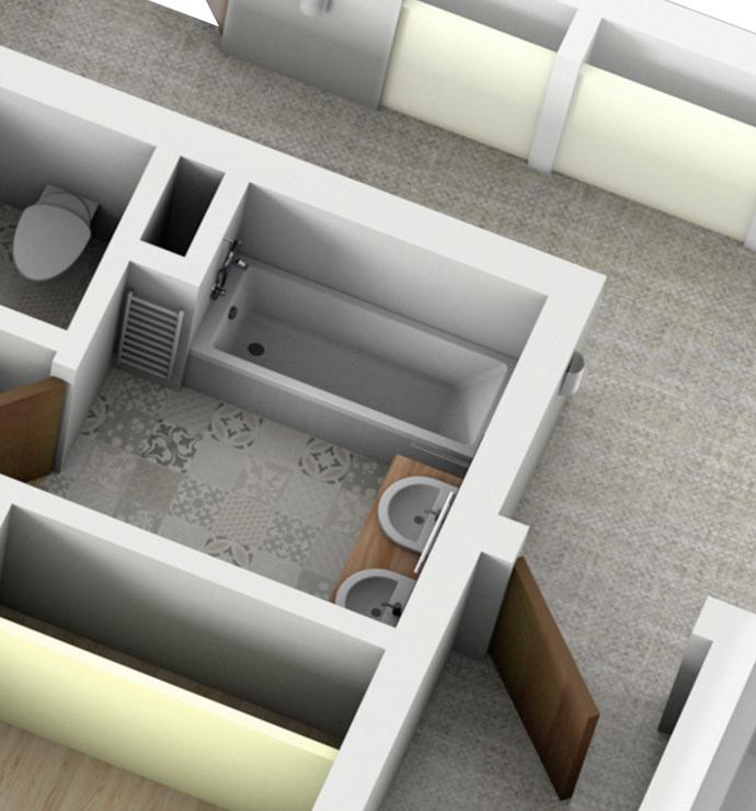 Área privada: casas de banho